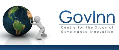 THE CENTRE FOR THE STUDY OF GOVERNANCE INNOVATION