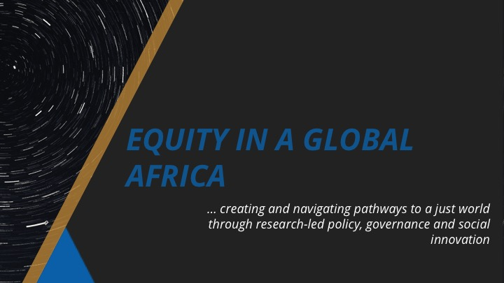 EQUITY IN A GLOBAL AFRICA