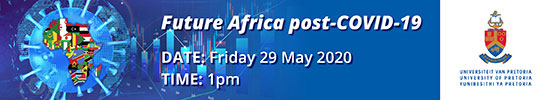 Future Africa Post-COVID-19, Friday 29 May 2020 at 1:00PM